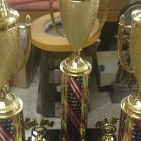 Wayne-Holmes Soapbox Derby Trophies look absolutely stunning! Nice Work!