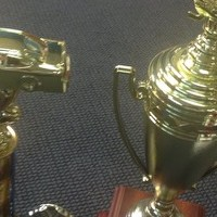 Congratulations Wayne-Holmes Derby Racers! Receiving these trophies will make it an extra special win!